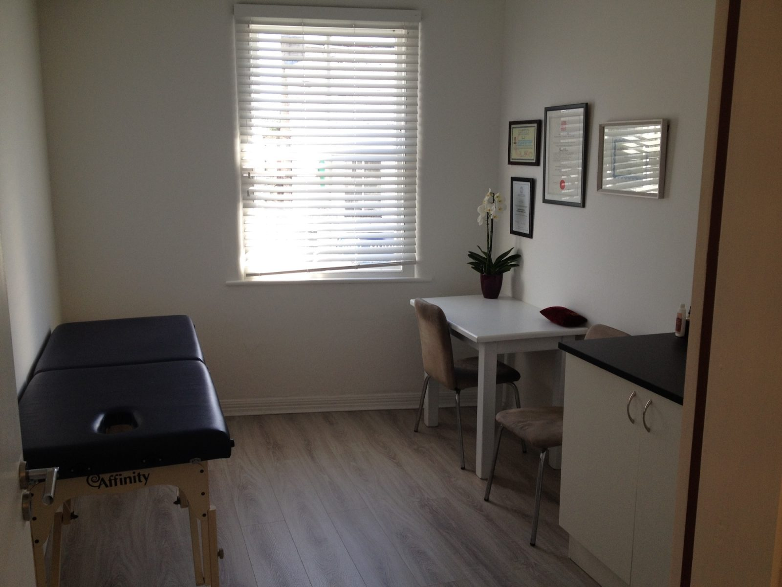 One of the treatment rooms at the Sligo Wellness Centre