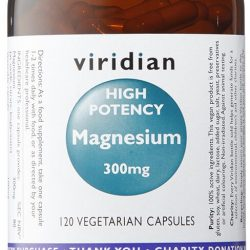 High Potency Magnesium with B6 120 Capsules