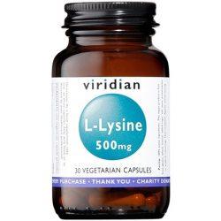 viridian lysine 30 caps